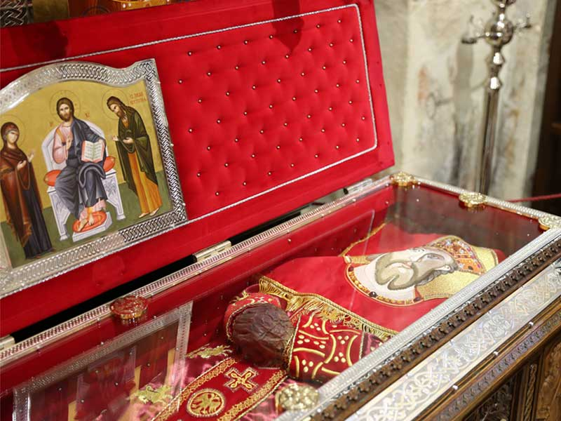 Prince Lazar's relics